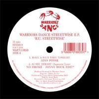Image of Warriors Dance - R.U. Streetwise E.P (Includes Jonny Rock Edit)