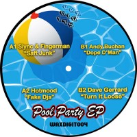 """Image of Various Artists - WAXDIGIT004 """"Pool Party"""" EP"""