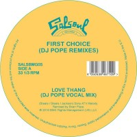 Image of First Choice - Love Thang - DJ Pope Remixes