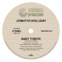 Image of Jennifer Holliday - Baby Tonite - Inc. DJ Roamin Ro Remix