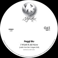 Image of Peggi Blu / Gregg Diamond - I Want It All Now / This Side Of Midnight - Justin Van Der Volgen Edits