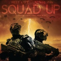 Method Man X Street Life - Squad Up B/w Instrumental (Red Vinyl)