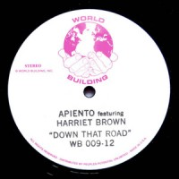 Apiento Feat. Harriet Brown - Down That Road