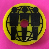 Image of Third Man Records - Record Middle - Yellow