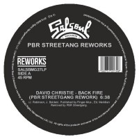 Image of David Christie / The Destroyers - Back Fire / 'Lectric Love - PBR Streetgang Reworks