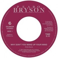 Image of Peabo Bryson - Why Don't You Make Up Your Mind / Paradise