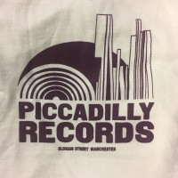 Image of Piccadilly Records - Logo T-Shirt - Summer 20: Cream / Burgundy