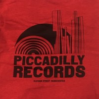 Piccadilly Records - Logo T-Shirt - Summer 20: Antique Cherry / Black