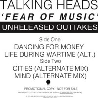 Talking Heads - Fear Of Music - Unreleased Outakes