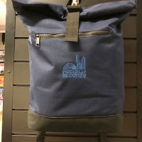 Image of Piccadilly Records - Roll Top Record Bag - Navy
