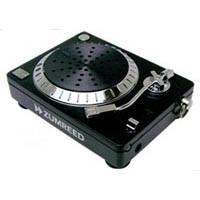 Image of Zumreed - DJ Turntable IPod Speaker - Black
