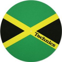 Image of Technics - Slipmat - Jamaica