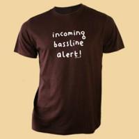 Image of Mr Scruff - Incoming Bassline Alert! T-shirt