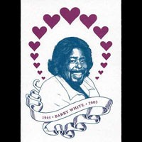 Image of Icons Cards - Fatalities Series - Barry White - 1944-2003