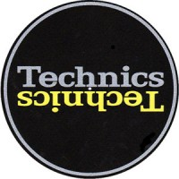 Image of Technics - Grey & Yellow Duplex Slipmats