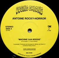 Image of Antoine Rocky-Horror - Machine Gun Boogie / Sophia