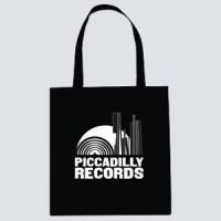 Image of Piccadilly Records - Mono Colour Print - Black Tote Bag