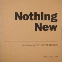 Image of Gil Scott-Heron - Nothing New