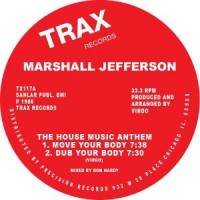 Image of Marshall Jefferson - The House Music Anthem (Move Your Body) - Red Vinyl Repress