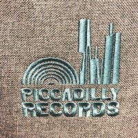 Image of Piccadilly Records - Roll Top Record Bag - Grey Marl