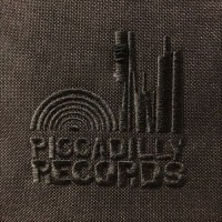 Image of Piccadilly Records - Roll Top Record Bag - Black
