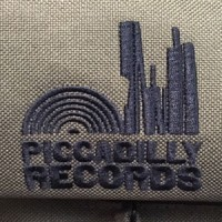 Image of Piccadilly Records - Roll Top Record Bag - Military Green