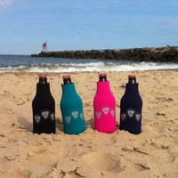 Image of People's Potential Unlimited - Beer Bottle Cooler - Turquoise