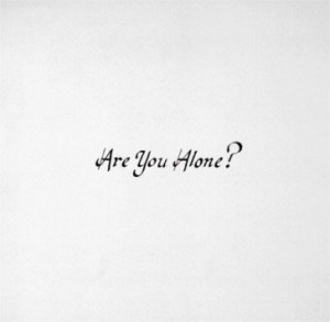 Image of Majical Cloudz - Are You Alone?