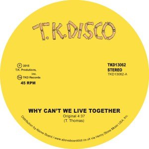 Image of Timmy Thomas - Why Can't We Live Together - Inc. Late Nite Tuff Guy Rework