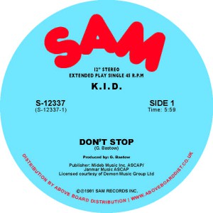 KID - Don't Stop / Do It Again