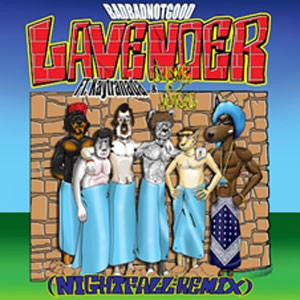 Image of Badbadnotgood - Lavendar (Night Fall Remix) Feat. Kaytranada And Snoop Dogg