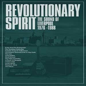 Image of Various Artists - Revolutionary Spirit - The Sound Of Liverpool  1976-1988: Deluxe 5CD Boxset