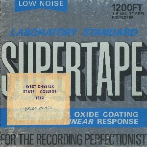 Cover Of Preservation Tapes By Bruce Haack