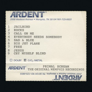 Image of Primal Scream - Give Out But Don't Give Up - The Original Memphis Recordings