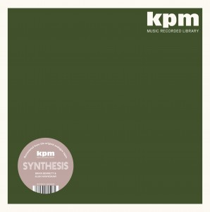 270d14665e Cover of Synthesis LP (THE KPM Reissues) by Alan Hawkshaw And Brian Bennett.
