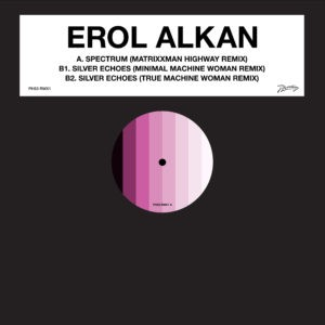 Cover of Spectrum / Silver Echoes - Matrixxman And Machine Woman Remixes by Erol Alkan.