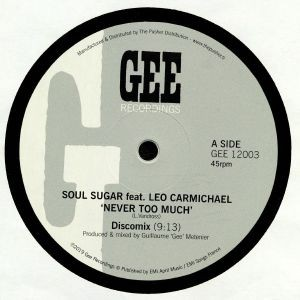 03fa0aefeffa3 Cover of Never Too Much - Inc. Sly & Robbie Remix by Soul Sugar.