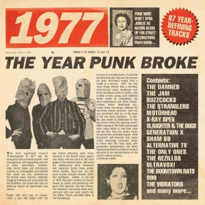 Image of Various Artists - 1977 - The Year Punk Broke