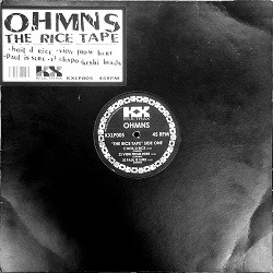 Image of OHMNS - The Rice Tape
