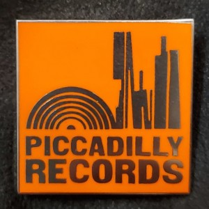 Image of Piccadilly Records - Enamel Badge