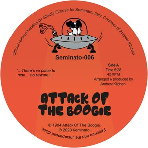 Image of Andrew Kitchen - Attack Of The Boogie