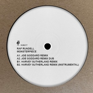 Image of Raf Rundell - Monsterpiece - Remixes (feat. Joe Goddard And Harvey Sutherland Mixes)
