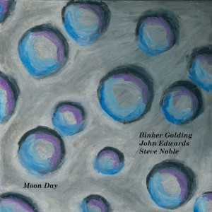 Image of Binker Golding, John Edwards, Steve Noble - Moon Day (Repress)