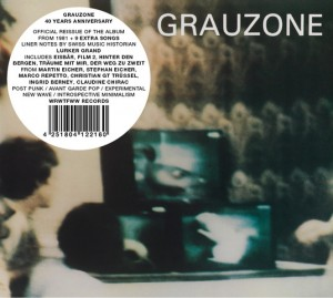 Image of Grauzone - Grauzone - 40 Years Anniversary Edition
