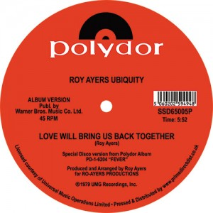 Image of Roy Ayers Ubiquity - Running Away / Love Will Bring Us Back Together