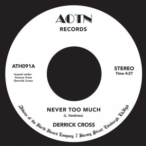 Image of Derrick Cross - Never Too Much