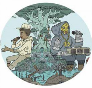 Image of MF Doom & Bishop Nehru - Nehruviandoom (Redux)