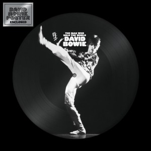 Image of David Bowie - The Man Who Sold The World - Picture Disc Edition