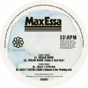Max Essa Vs Eddie C - Jigsaw Moon / Jules Y Cyntia