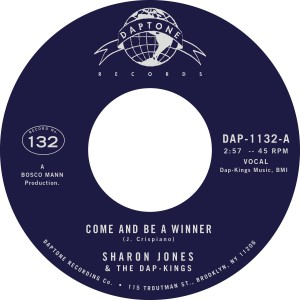 Sharon Jones & The Dap-Kings - Come And Be A Winner / Instrumental